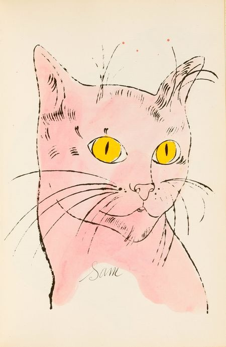 Skinned Knees Fancy That Warhol Sam Cat